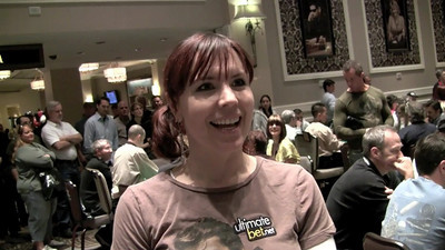** V I D E O ** of Annie Duke at Celebrity Poker Tournament in Caesar's Palace raising money for Opportunity Village  Video by Kiki Kalor Editing by Kiki Kalor Stills by Mark Bowers for http://www.iSVodka.com *