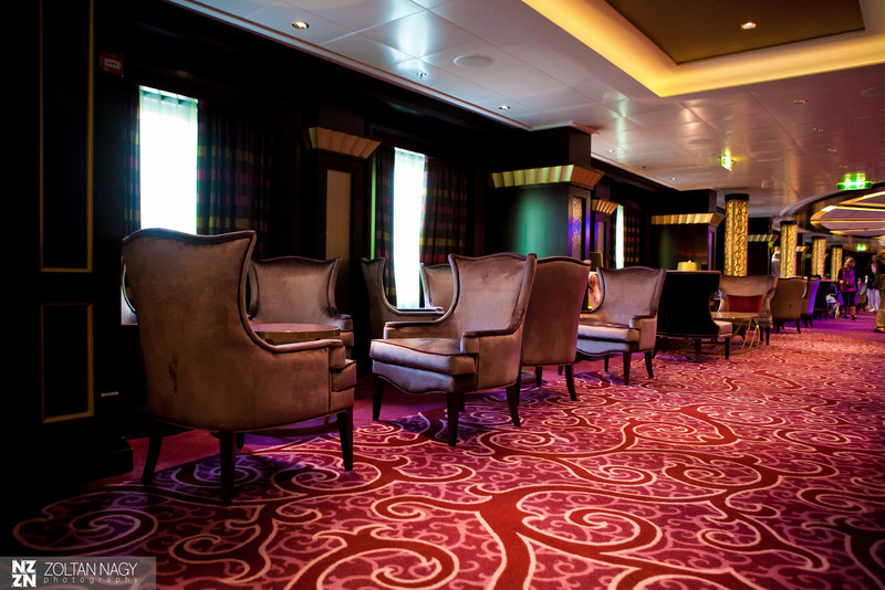 Lounge by the specialty restaurants