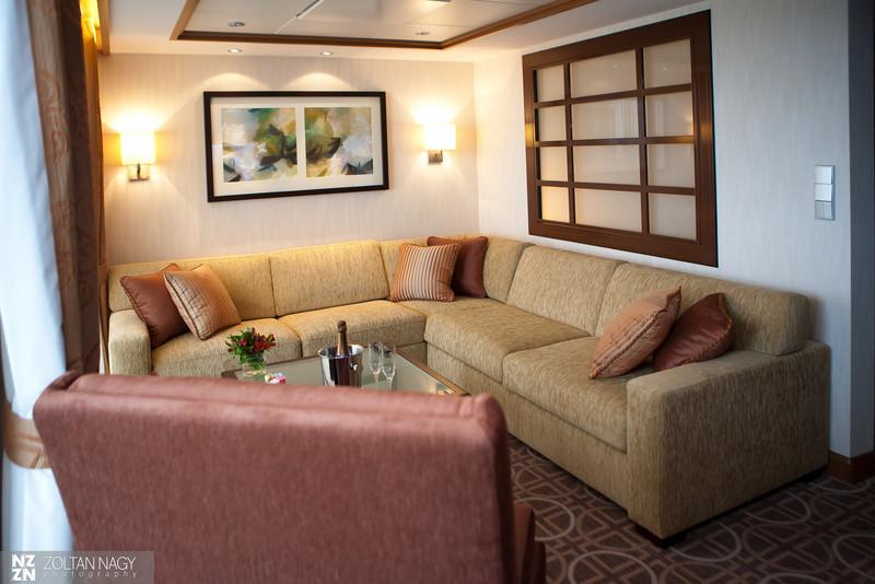 Celebrity suite living room