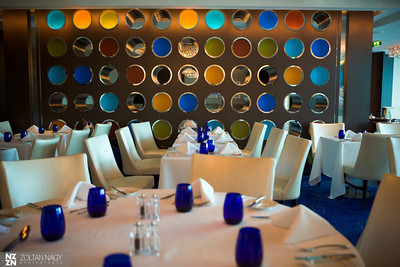 Blu - specialty restaurant for Aqua Class and Suite guests