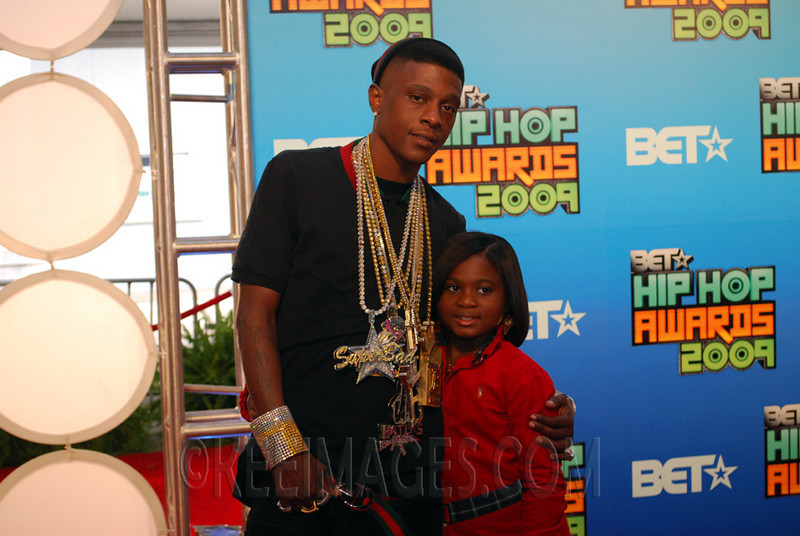 Lil Boosie (Rapper) and Daughter