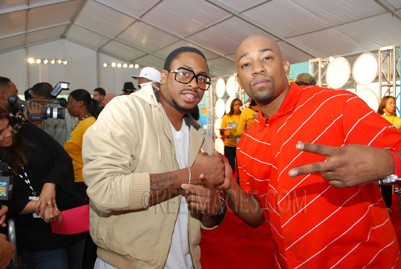 Raheem DeVaughn (R&B Singer) and Dorrough (Rapper)