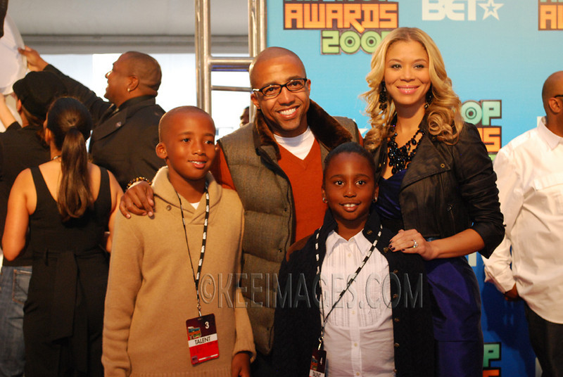 Kevin Liles and Family