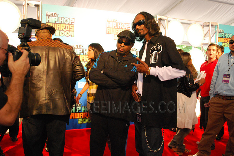 Snoop Dogg and Chuck D