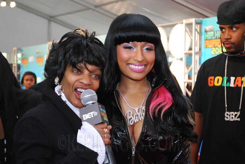 Frankie Lons interviewing Nicki Minaj
