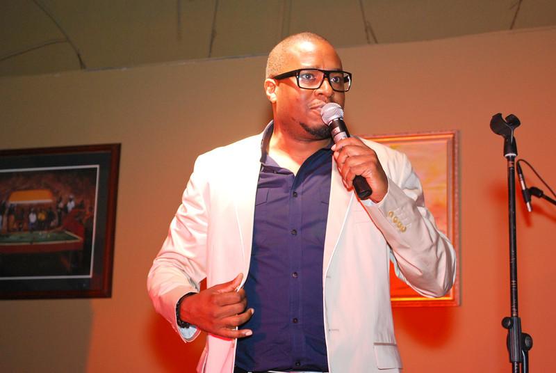 Comedian Sean Larkin