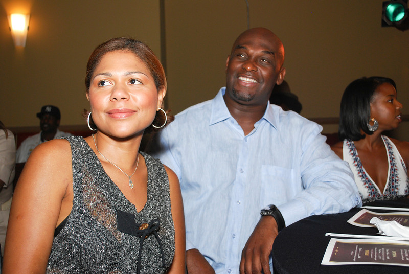 Actor Tommy Ford and guest