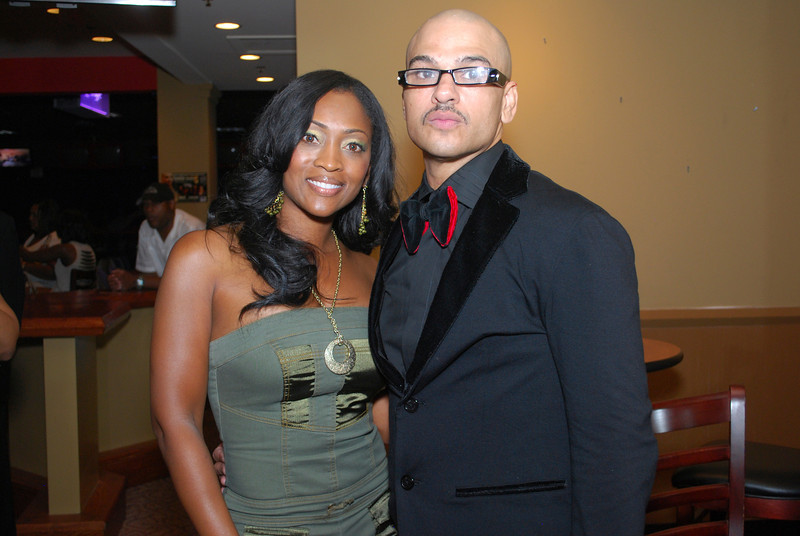 Host Didi Skky and Chico Debarge