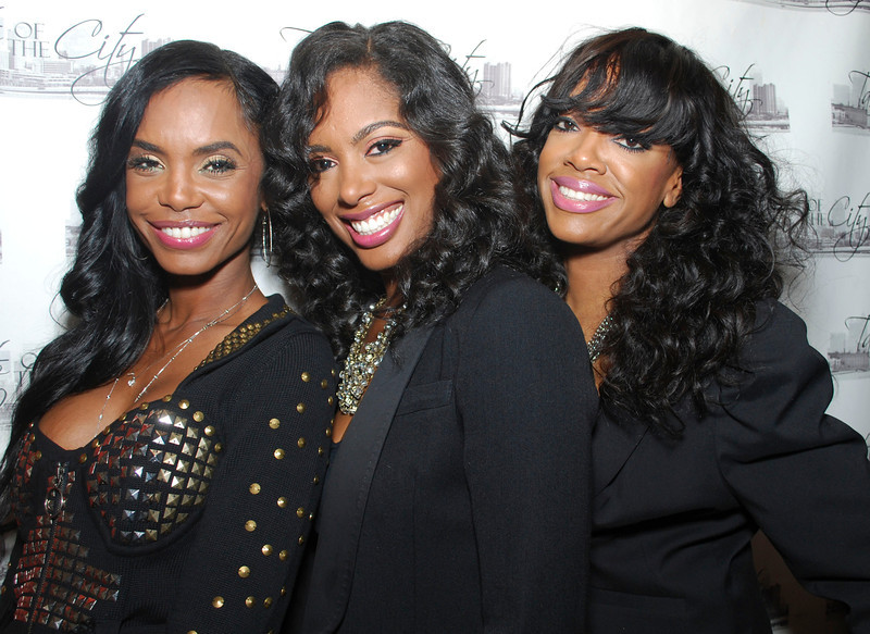 3 Brown Girls <br /> Kim Porter, Nicole Johnson, and Eboni Elektra