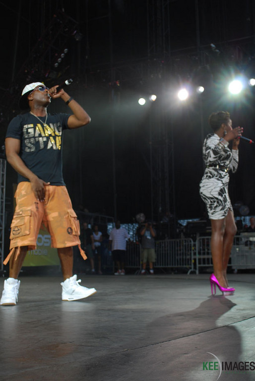 Talib Kweli and Estelle