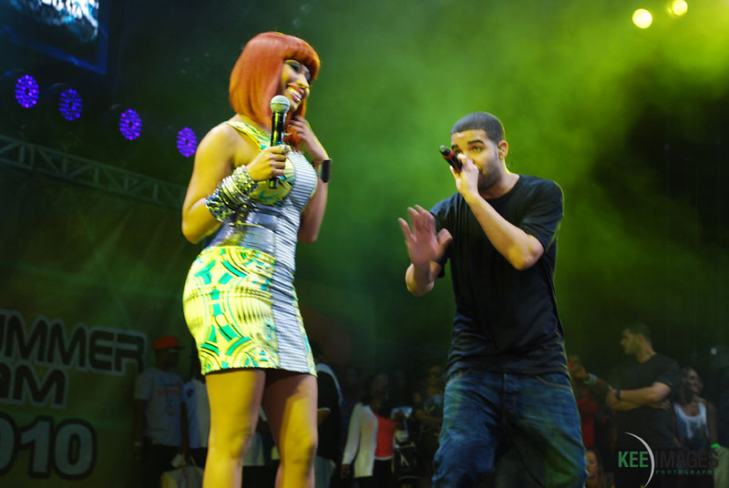 Nikki Minaj and Drake