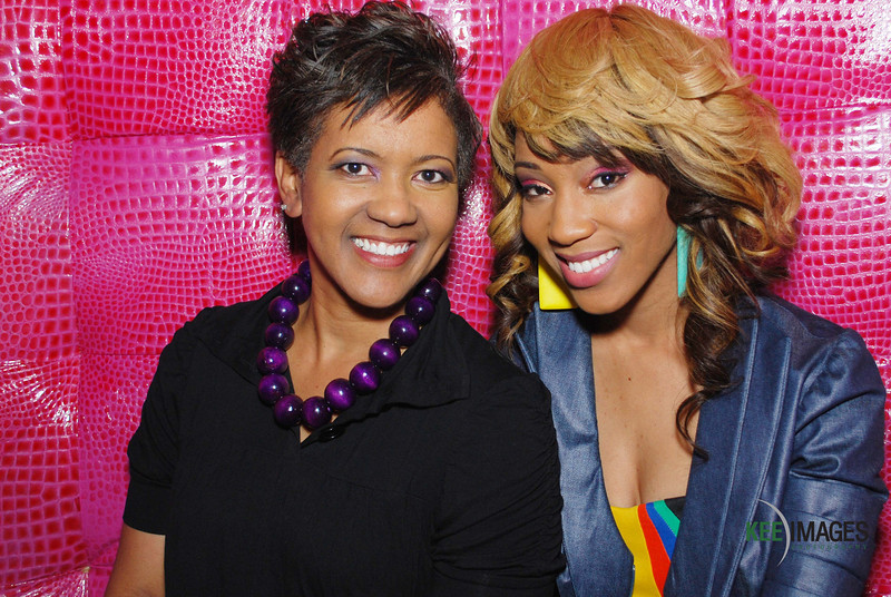 Singer Dondria and her Mother/Manager