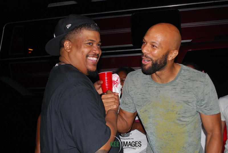 Rapper Common and Trugoy the Dove of De La Soul