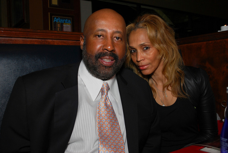 Mike Woodson and spouse