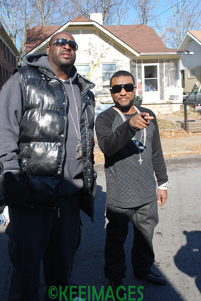 "Shawty Lo ""Atlanta, GA"" Video Shoot Featuring Ludacris & The Dream"