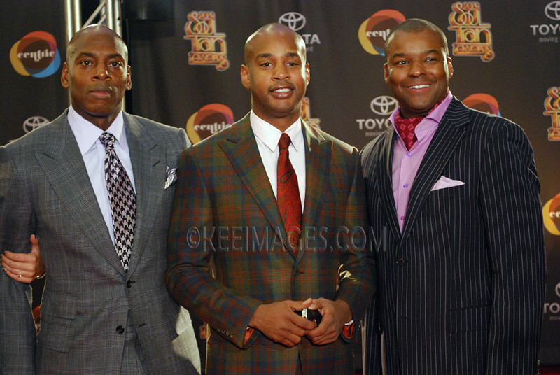 The new owners of Soul Train, Anthony Maddox, Peter Griffin, and Kenard Gibbs