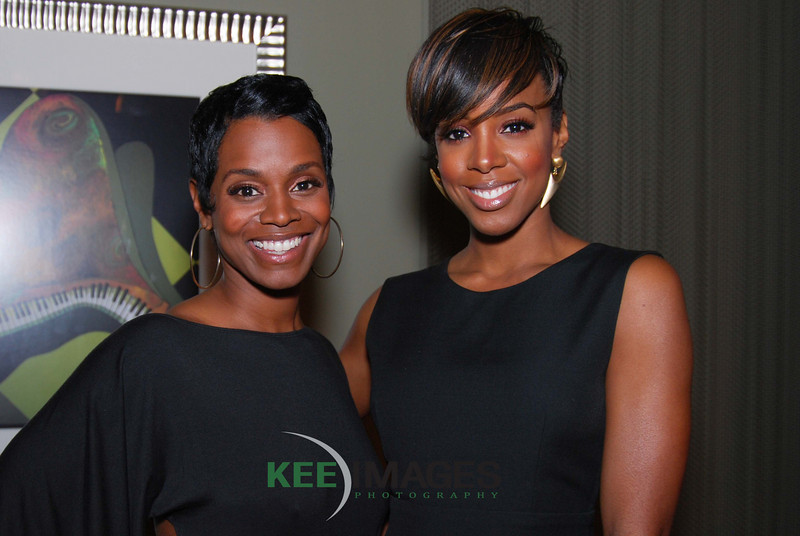 Rashan Ali, co-host The Ryan Cameron Show on Atlanta's V-103 FM<br /> Kelly Rowland,Grammy Award-winning singer/songwriter