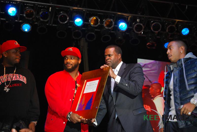 Big Boi<br /> Polow da Don<br /> Mayor Kasim Reed<br /> Ludacris