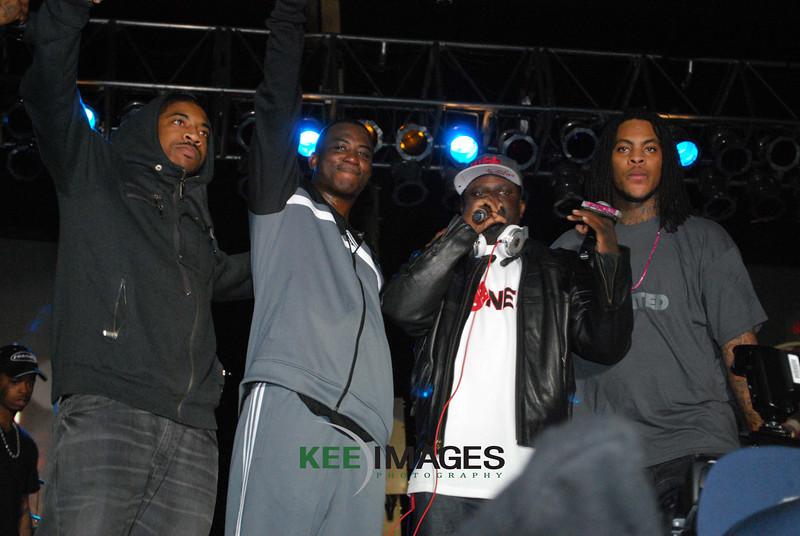 DJ Holiday<br /> Gucci Mane<br /> DJ Gregg Street<br /> Wocka Flocka