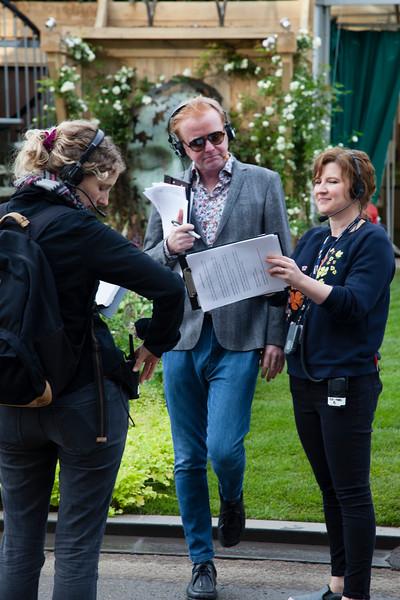 Chris Evans, The Chelsea Flower Show, London, England