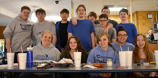 Centennial Archery Team Bowling day 2014