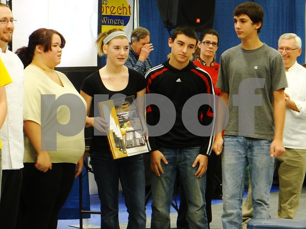 Fort Dodge Senior High tied for second place in the High School Cook-off.