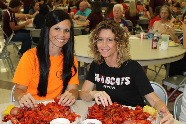 Central Teachers Crawfish Boil 5-13