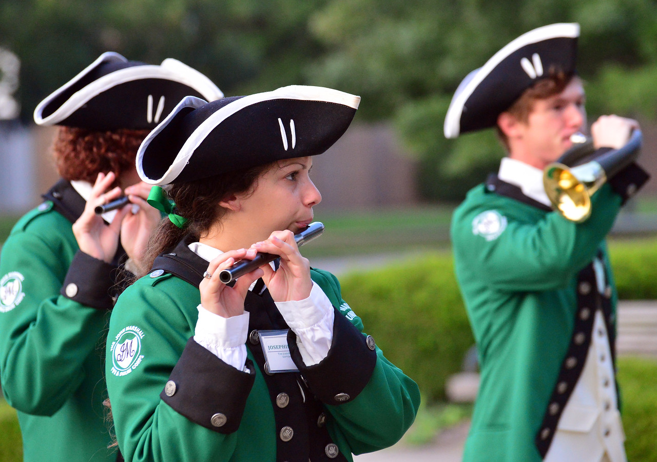 The John Marshall Fife and Drum Corps