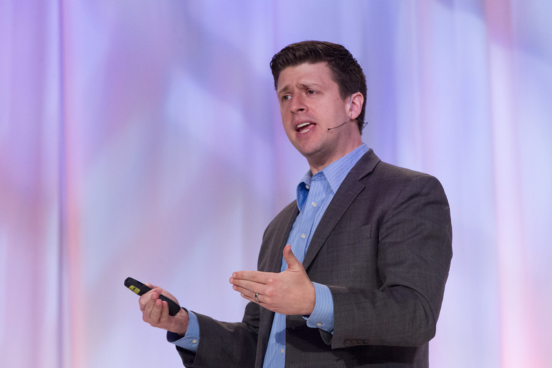 Best selling author Dan Heath was the keynote speaker at the Certified Healthy Luncheon at the Cox Center.
