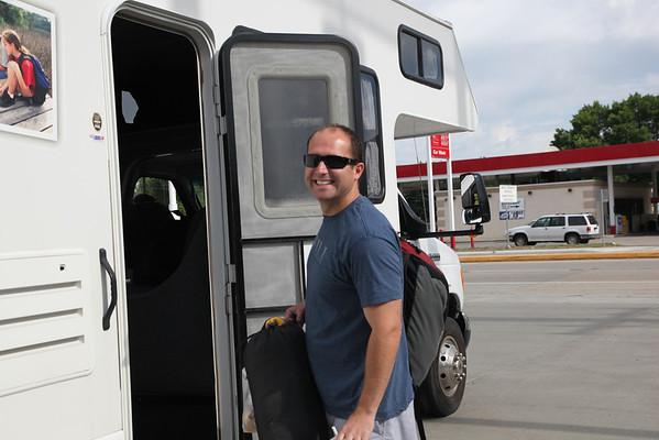 Chad runs Ragnar 2012