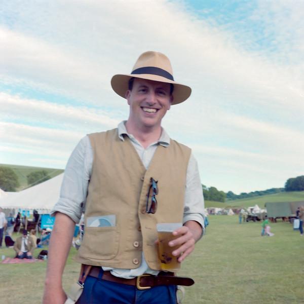 Alex Langlands, Chalke Valley History Festival 2017