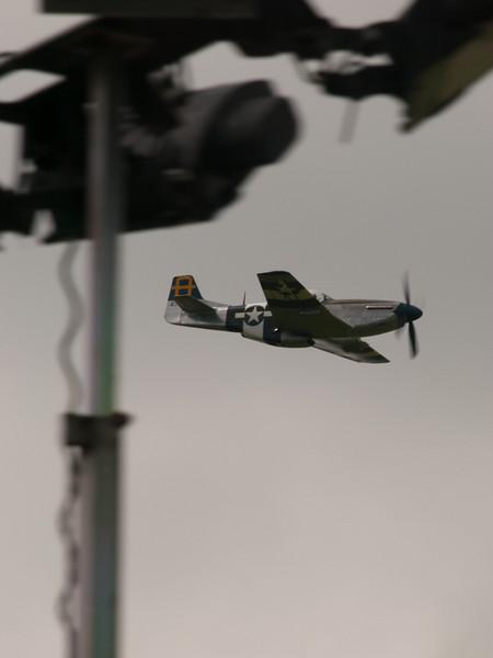 P-51 Mustang, Chalke Valley History Festival 2014