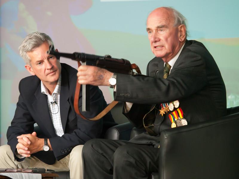 David Render & Stuart Tootal, Chalke Valley History Festival 2014