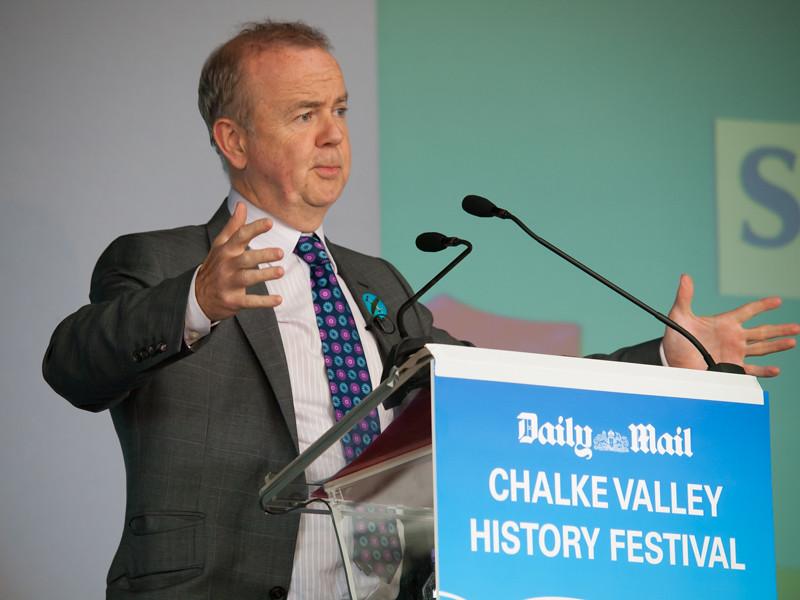Ian Hislop, Chalke Valley History Festival 2014