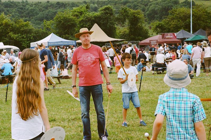 Sir Llywelyn ap Grymmppyy, Medieval Sword School, Chalke Valley History Festival 2015