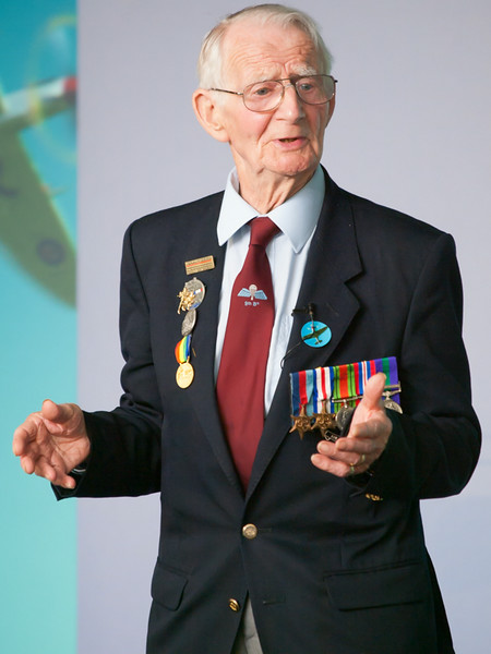 Fred Glover, 9 Para, Chalke Valley History Festival 2014