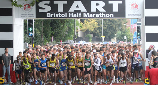 The Bristol 1/2 Marathon
