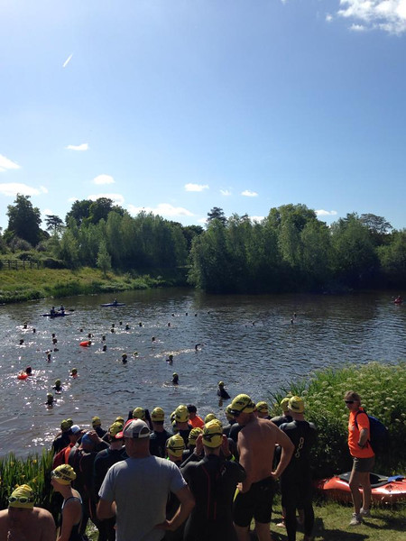 The Jubilee River Swim