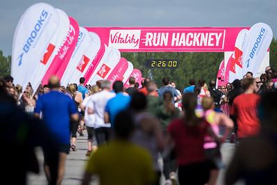 Vitality Hackney Half Marathon