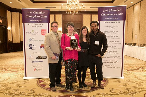 Chamber Gala 2018 Winners & Nominees