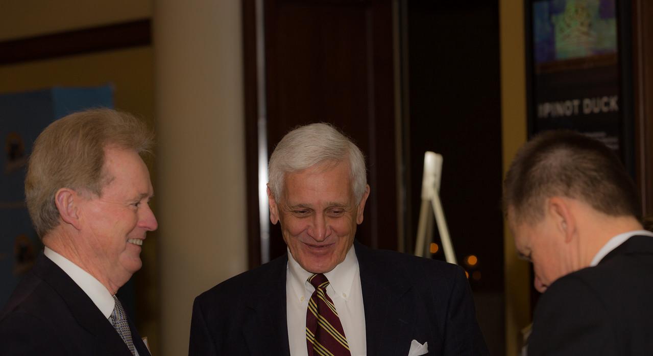 Judge Gaujot (center), Roger Cutright (right)