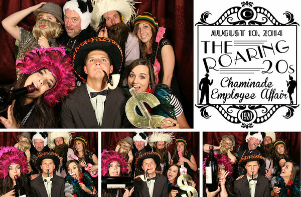 Chaminade Roaring 20's Party 8.10.14 Photo Strips