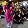"""Sofia Gross, 4, appeared to be the most active dancer to the music of Jeff Kagan during  the """"ChanuConcert: A Musical Celebration of Lights"""" at the Congregation Har HaShem in Boulder on Sunday.<br /> For a photo gallery and video of the event, go to  <a href=""""http://www.dailycamera.com"""">http://www.dailycamera.com</a><br /> Cliff Grassmick / December 13, 2009"""