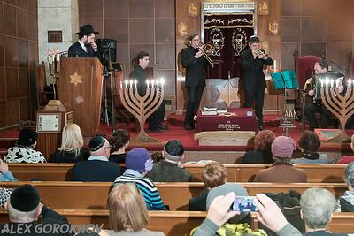 Chanuka Big Event on Brighton 4 with Rabbi Laskin
