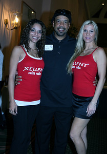 STEELERS GREAT LOUIS LIPPS WITH XELLENT GIRLS