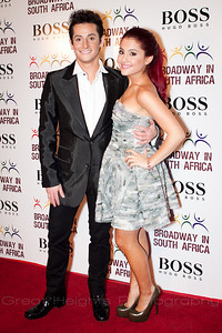 Frankie and Ariana Grande at the BSA gala on Oct. 4th, 2010