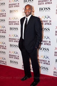 Brandon Victor Dixon at the BSA gala on Oct. 4th, 2010