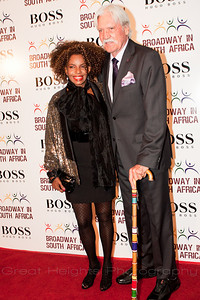 Melba Moore and guest of honor, Michael Butler at BSA gala on Oct. 4th, 2010