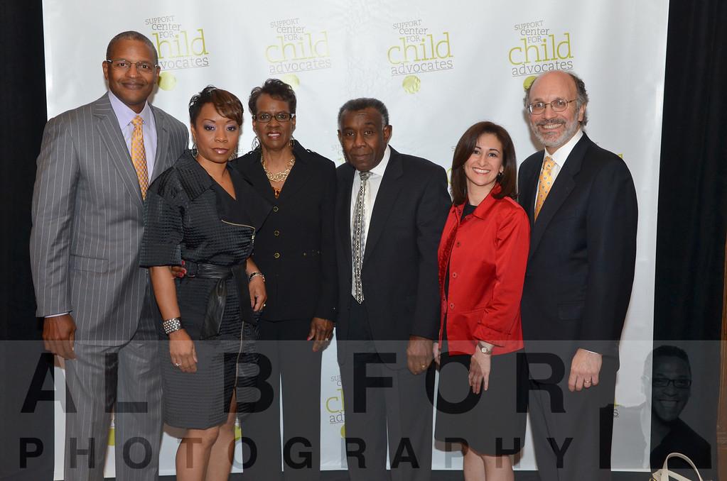 Brad Sheares, Adrienne D. Simmons & Family withKatayun Jaffari, Partner~Ballard Spahr & Frank Cervonne