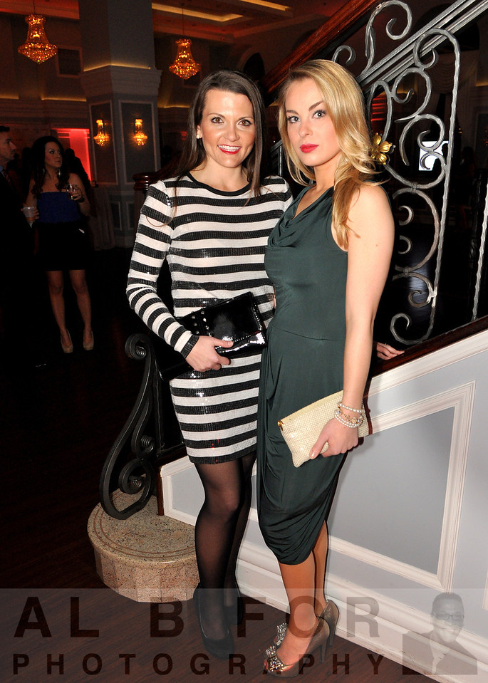 Stacy Murray (Designer, Manager of SAKS 5th Ave wearing Michael Kors head to toe) with Britt Branverman (Contemporary Selling Manager, Wearing BVBG)